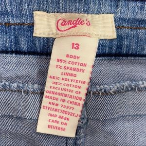 Candie's Skirts - Candie's Jean Skirt-13